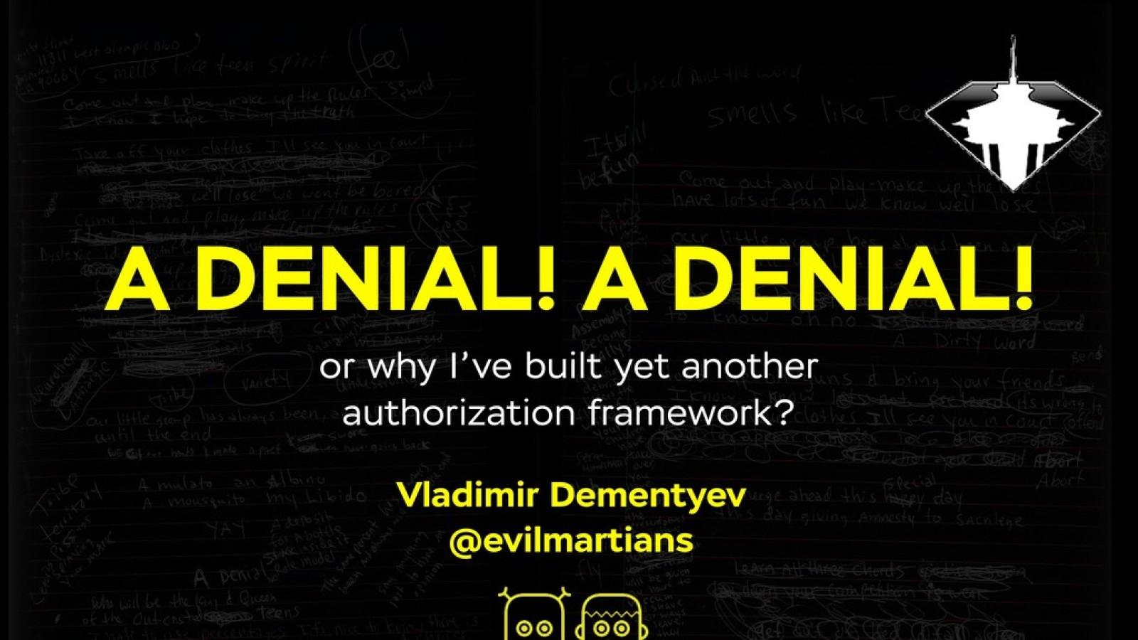 Adenial! Adenial! Adenial!