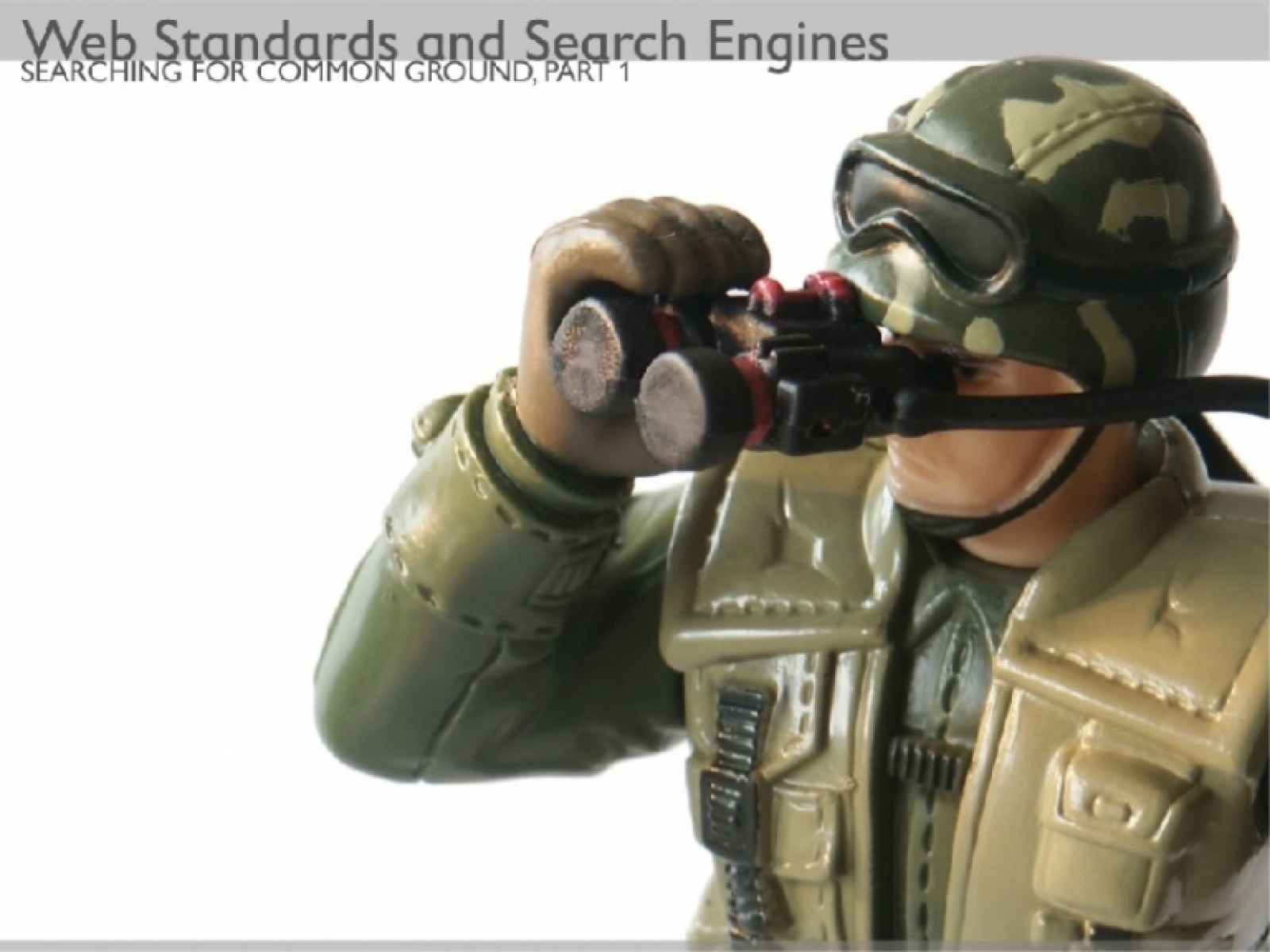 Web Standards and Search Engines