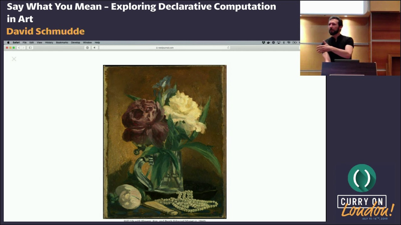 Say What You Mean: Exploring Declarative Computation in Art