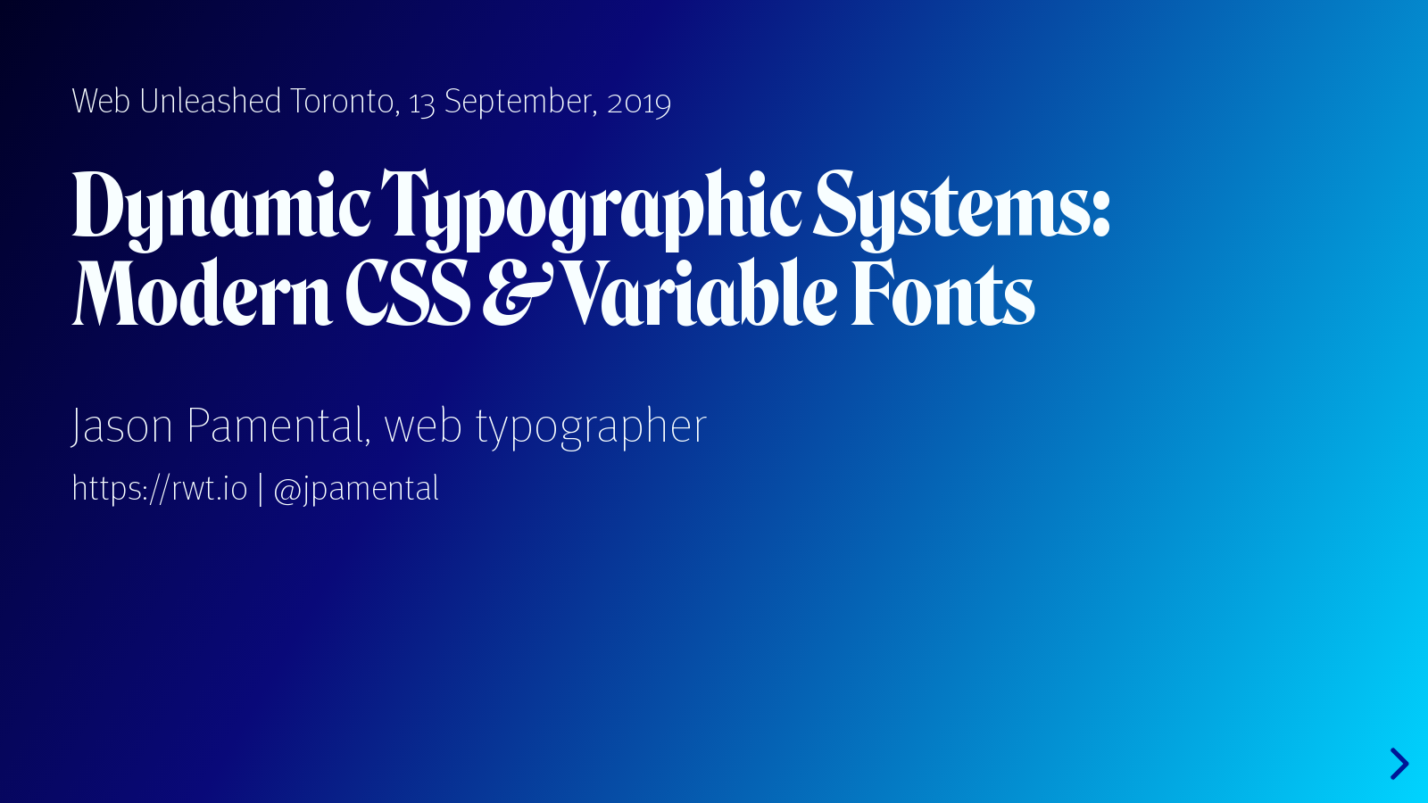 Dynamic Typographic Systems: Modern CSS & Variable Fonts