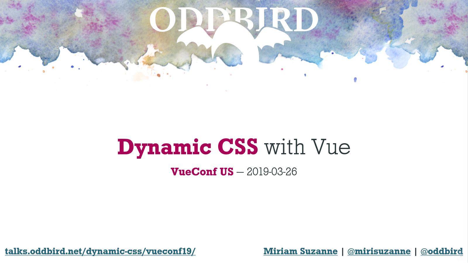 Dynamic CSS with Vue