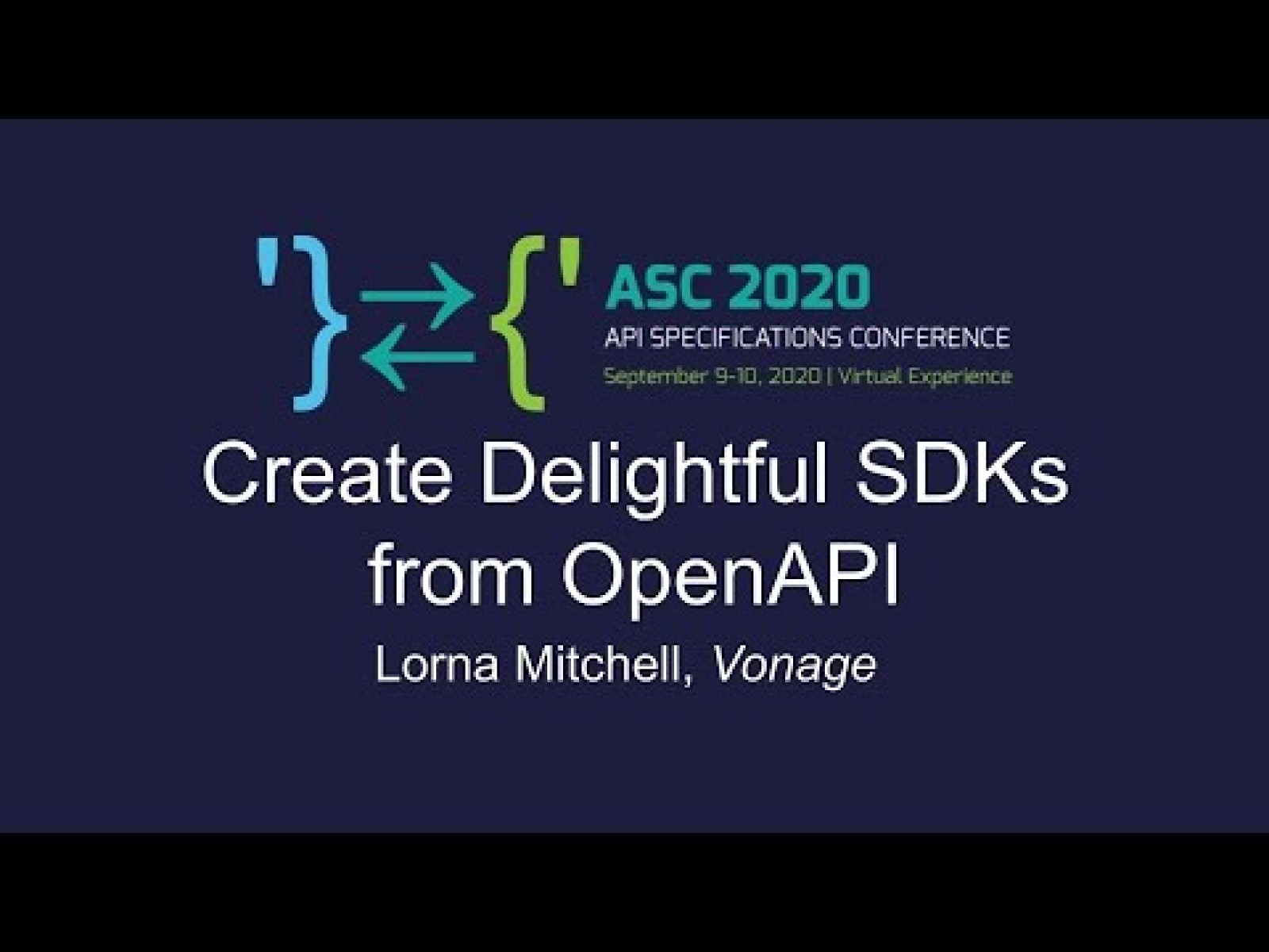 Create Delightful SDKs with OpenAPI