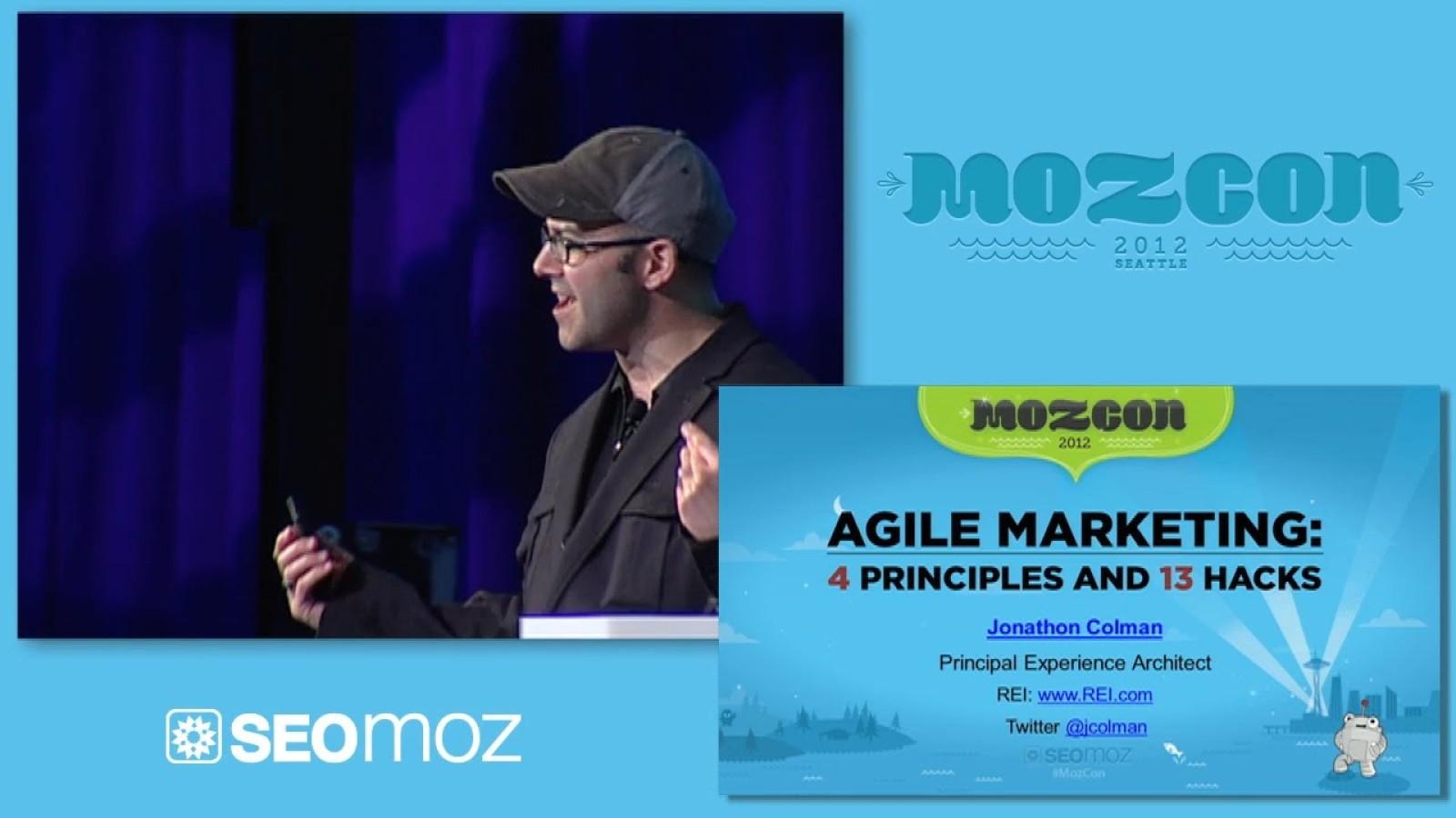 Agile Marketing: 4 Principles and 13 Hacks