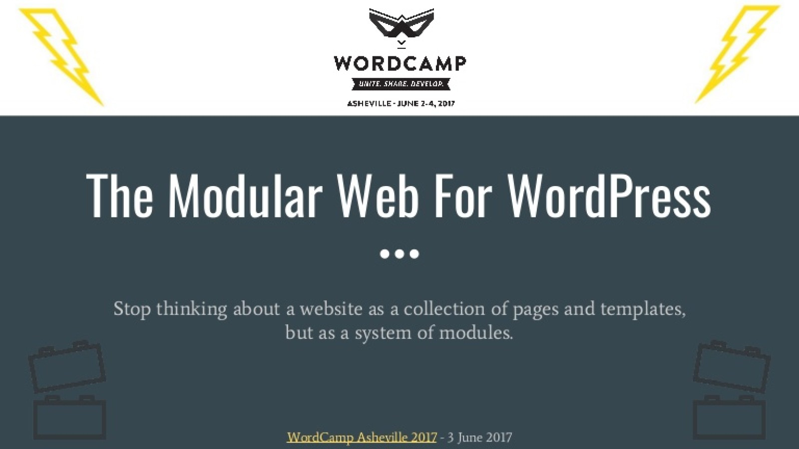 Modular Web for WordPress