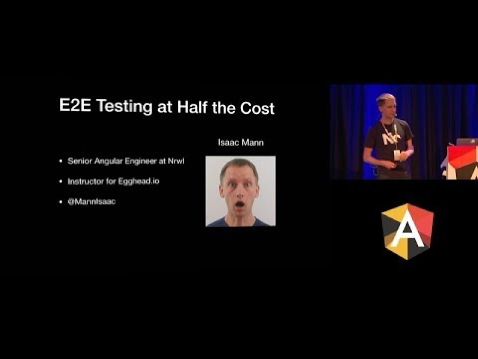 E2E Testing at Half the Cost