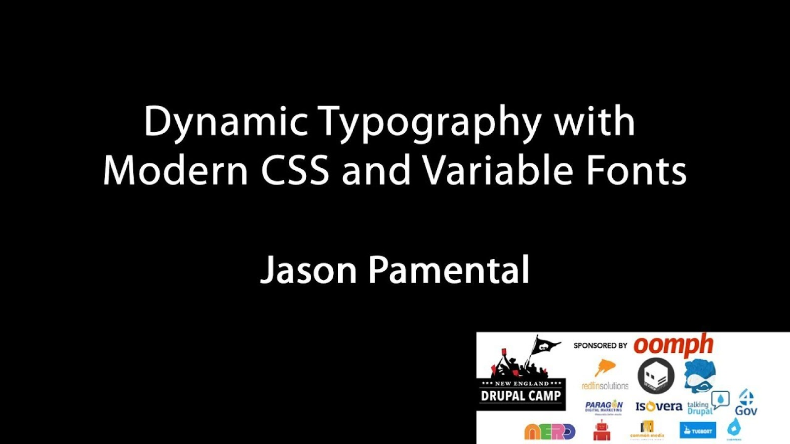 Dynamic Typography with Modern CSS & Variable Fonts