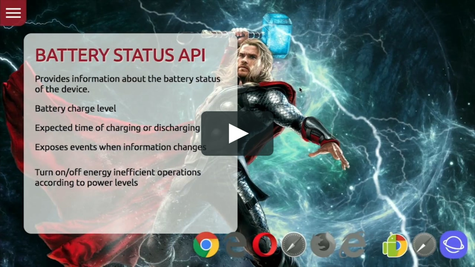Browser APIs: the unknown Super Heroes