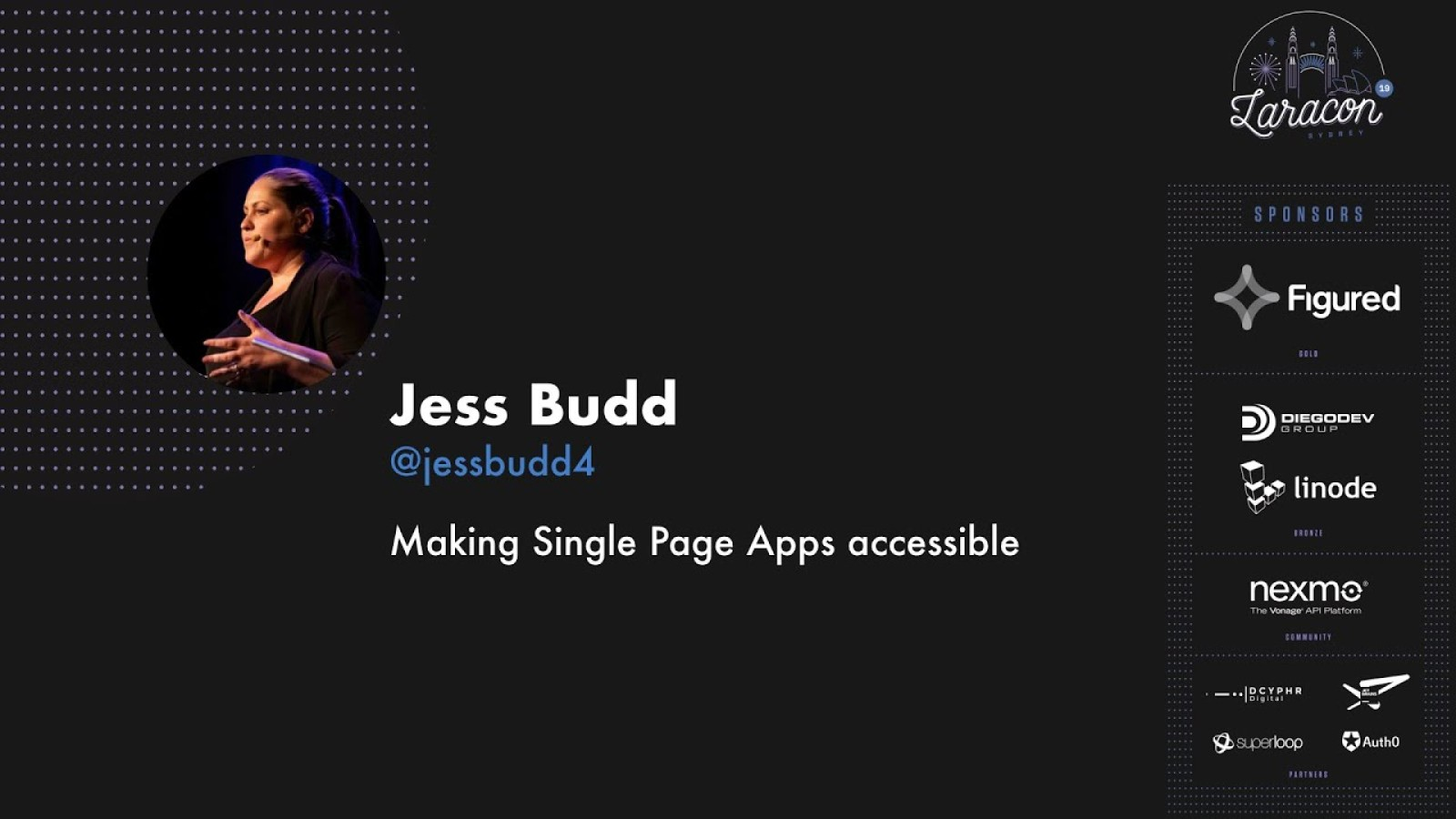 Making Single Page Apps Accessible