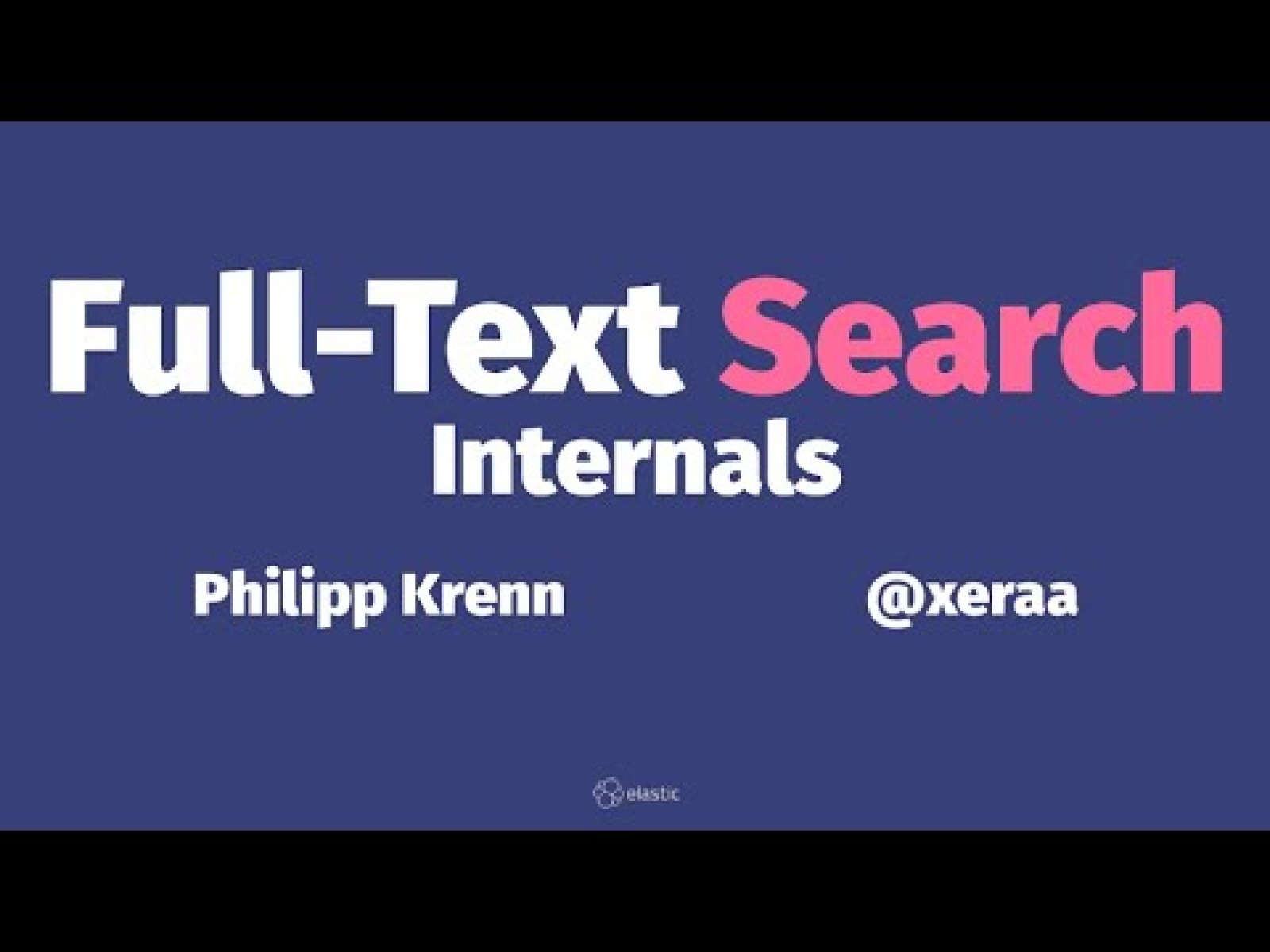 Full-Text Search Internals