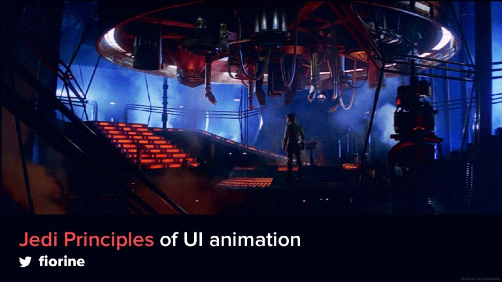 Jedi Principles of UI Animation