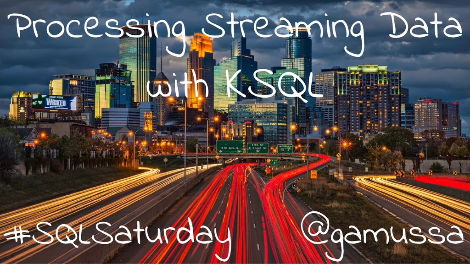 Processing Streaming Data with KSQL