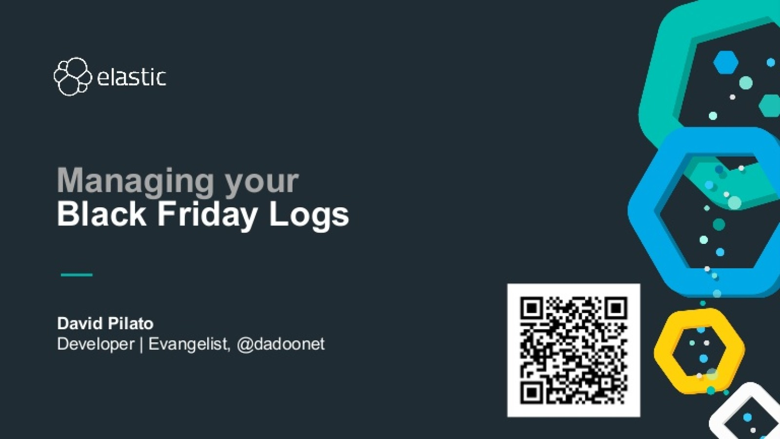 Managing your black Friday logs