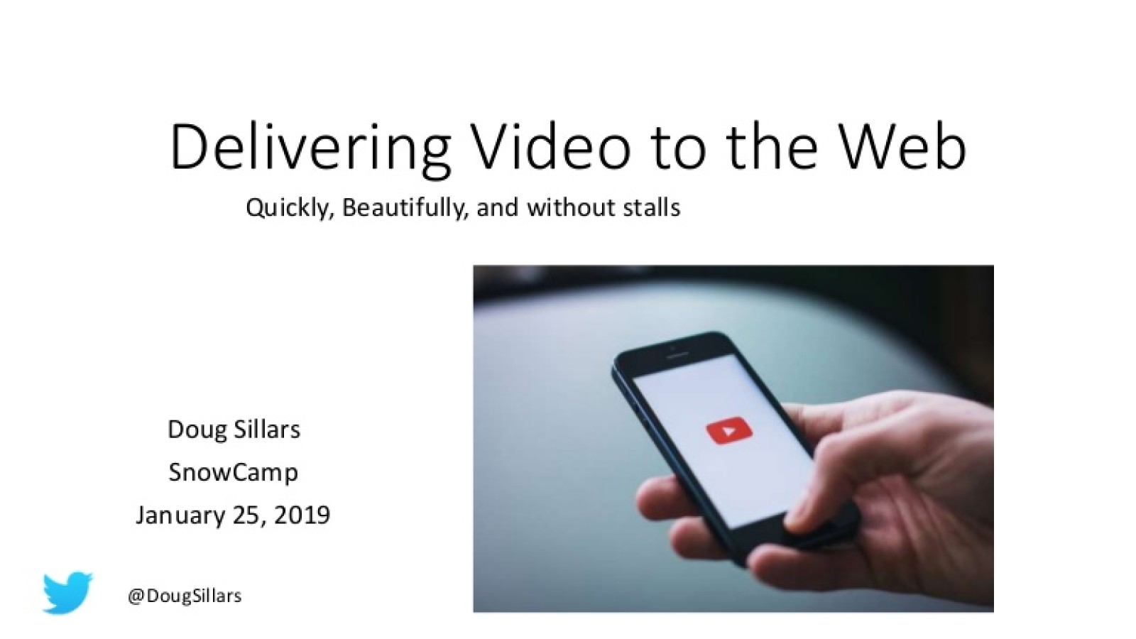 Stop Stalling! Delivering Fast Video without the Buffering