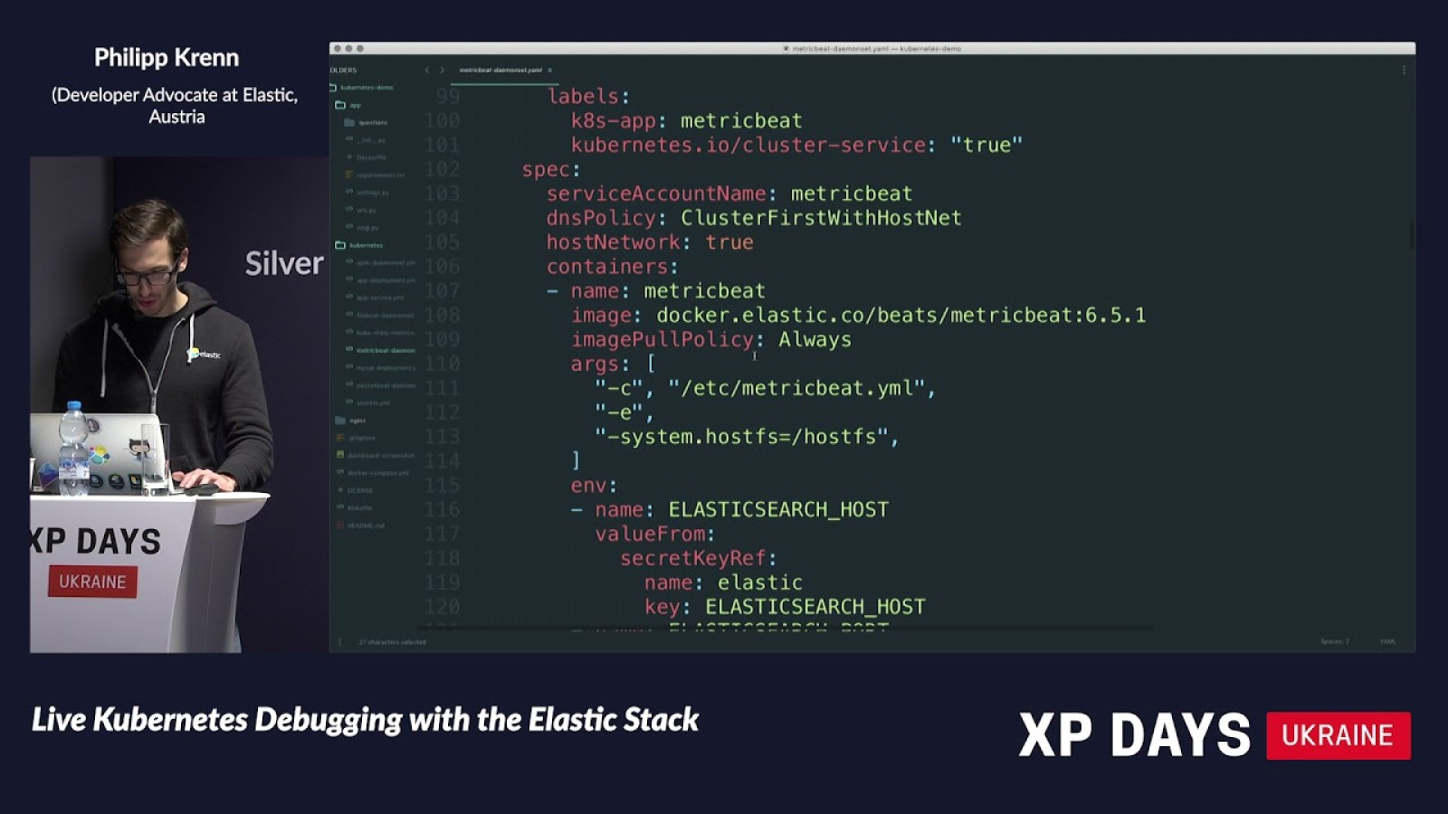 Live Kubernetes Debugging with the Elastic Stack