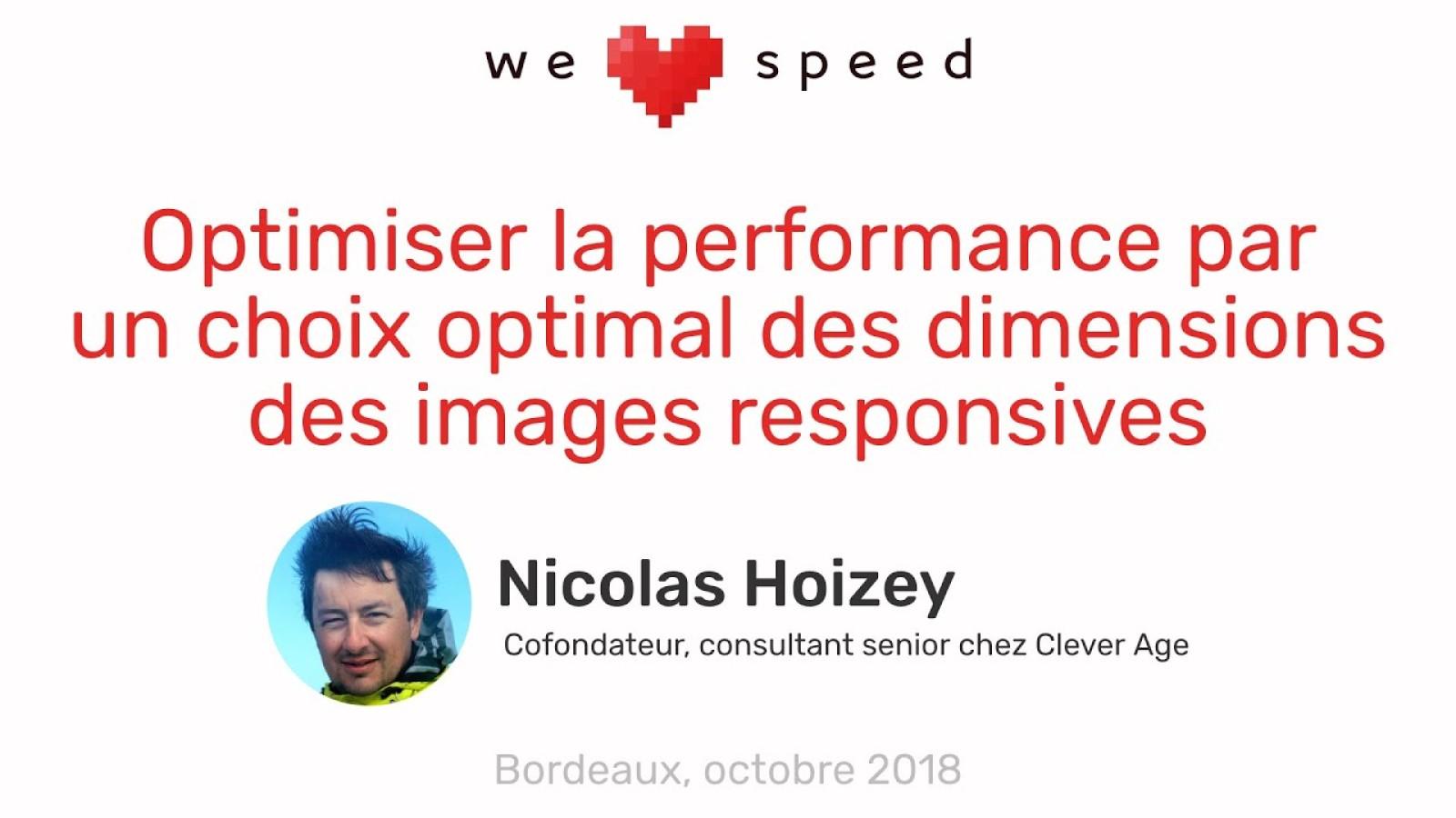 Optimiser la performance par un choix optimal des dimensions des images responsives