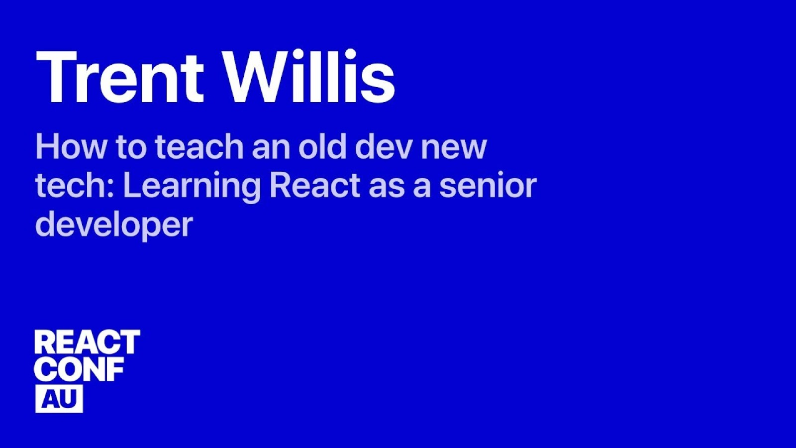 How To Teach An Old Dev New Tech: Learning React as a Senior Developer