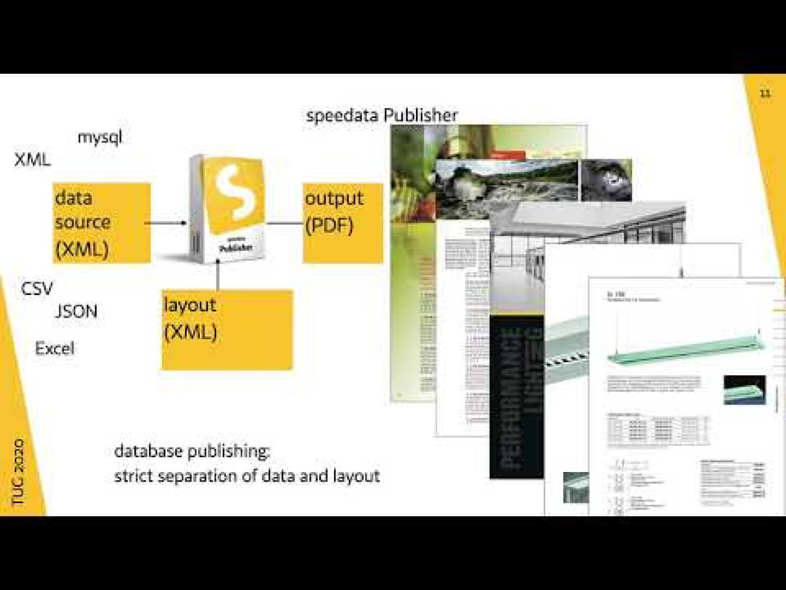 speedata Publisher - database publishing