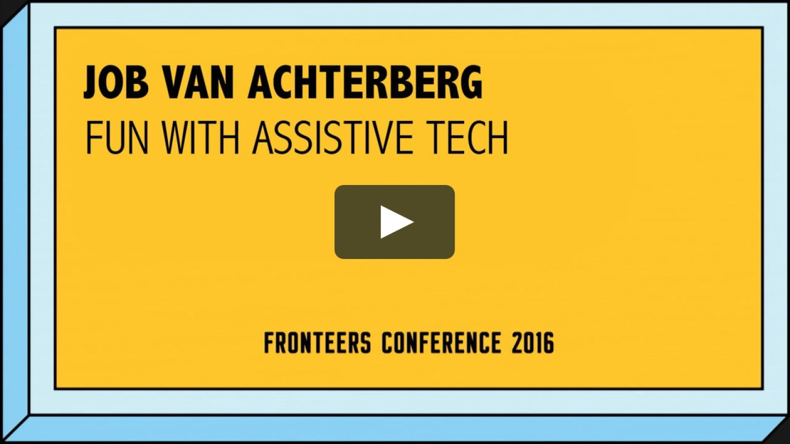 Fun With Assistive Tech