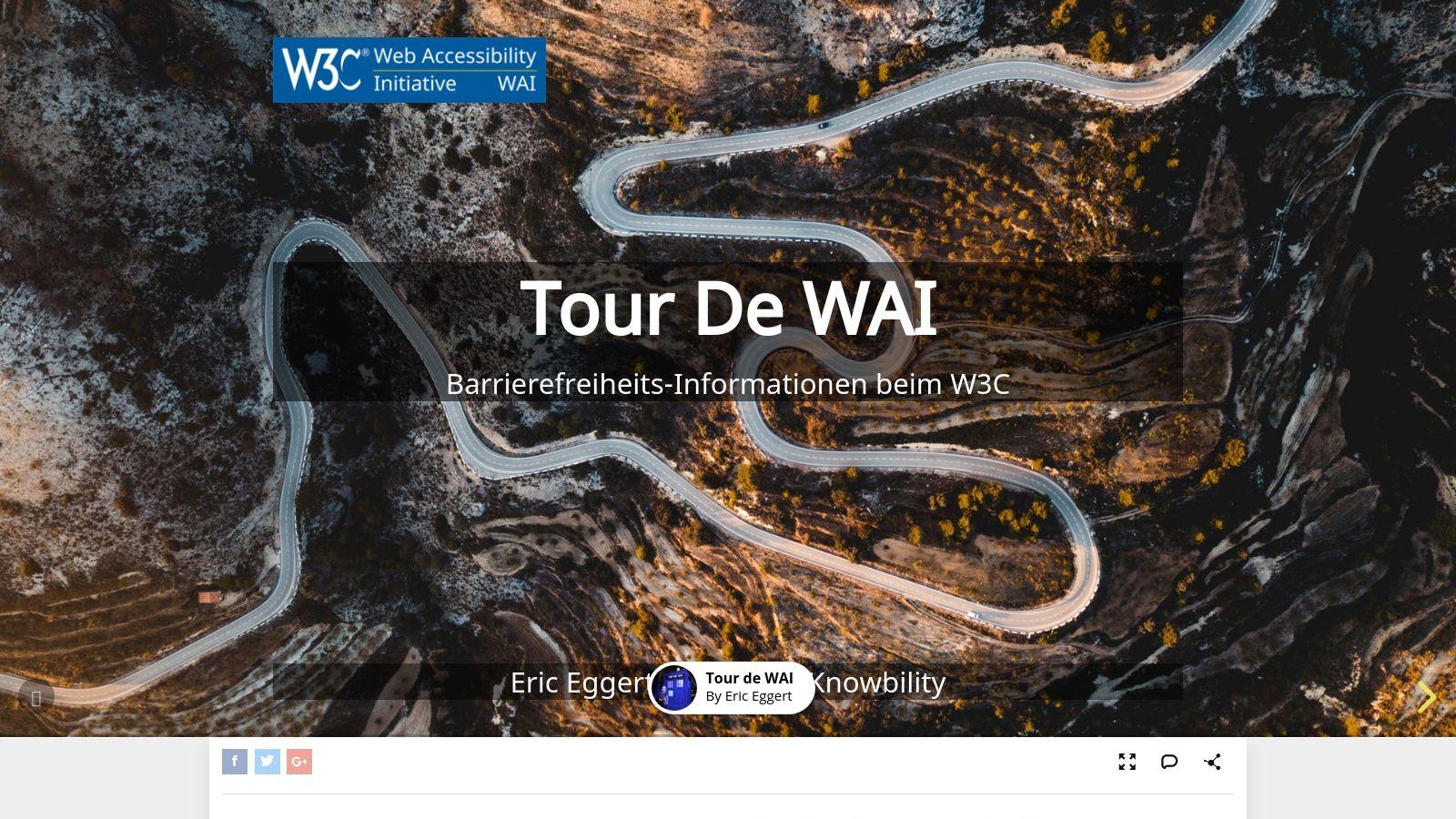 Tour de WAI