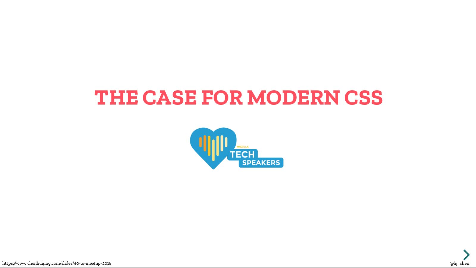 The case for modern CSS