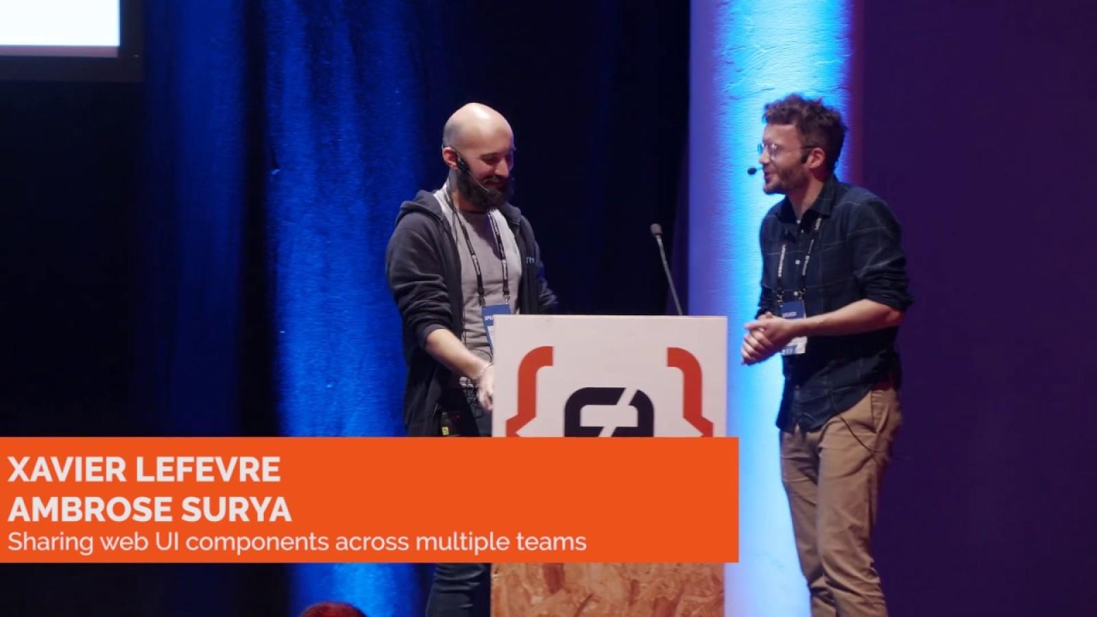 Sharing web UI components across multiple teams