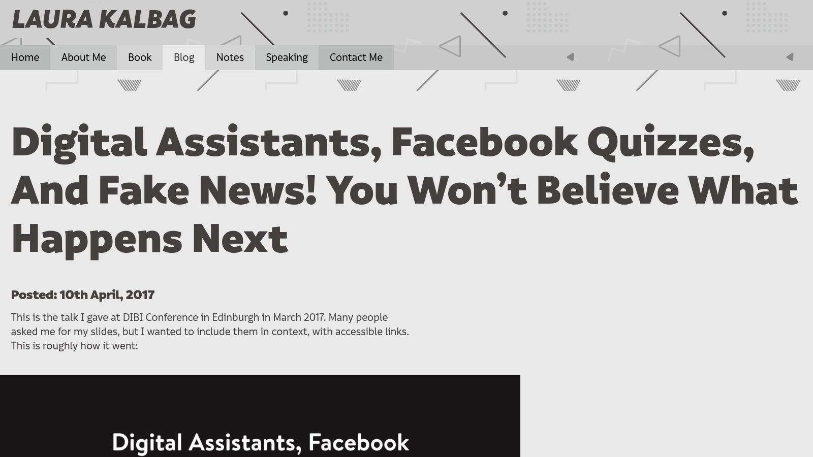 Digital Assistants, Facebook Quizzes, And Fake News! You Won't Believe What Happens Next
