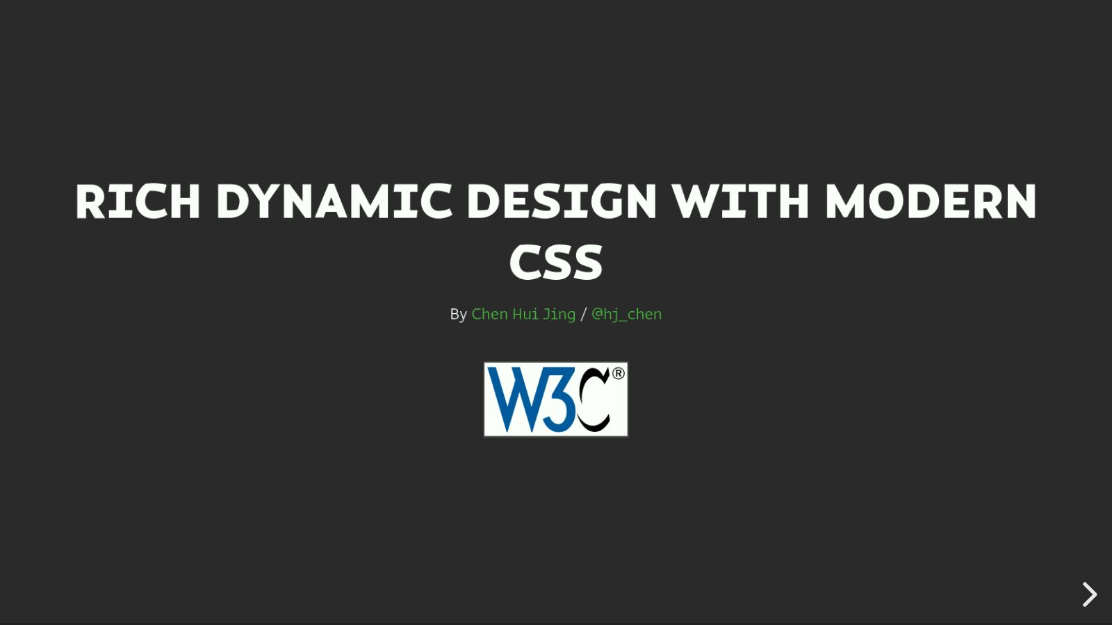 Rich Dynamic Design with Modern CSS