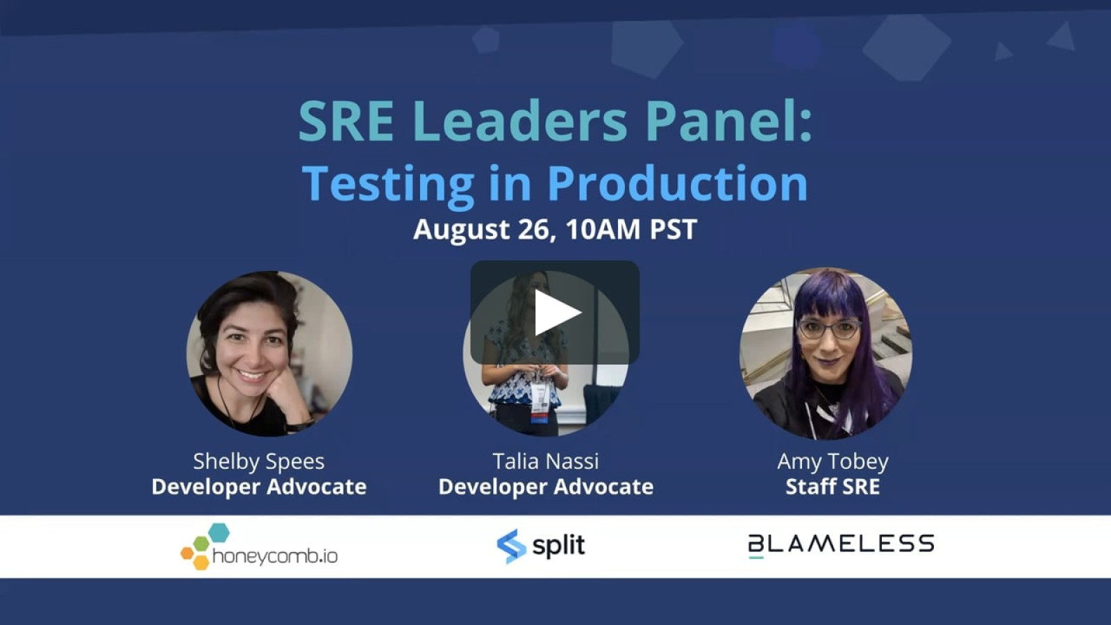 SRE Leaders Panel: Testing in Production