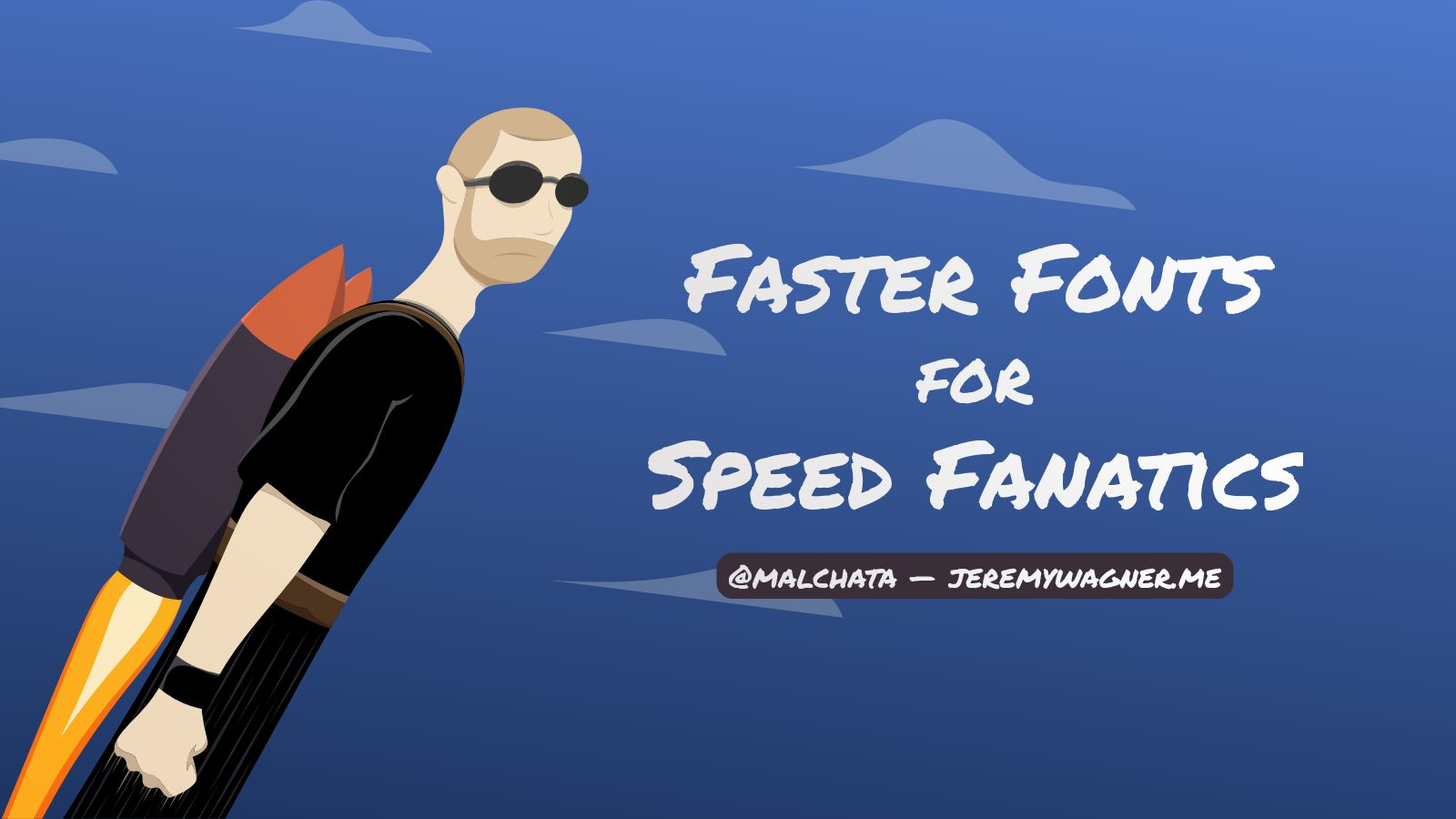 Faster Fonts for Speed Fanatics