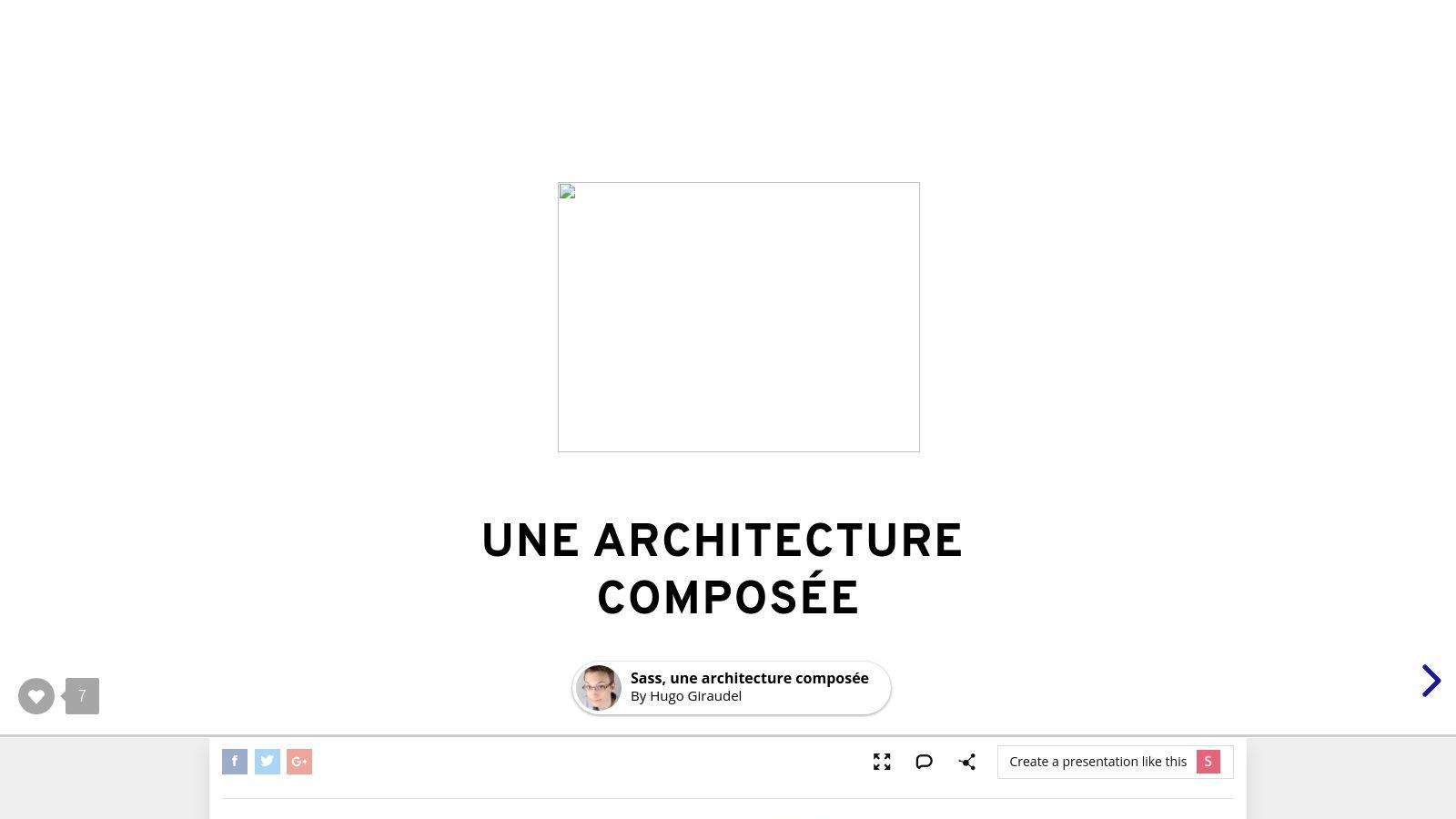 Sass, une architecture composée