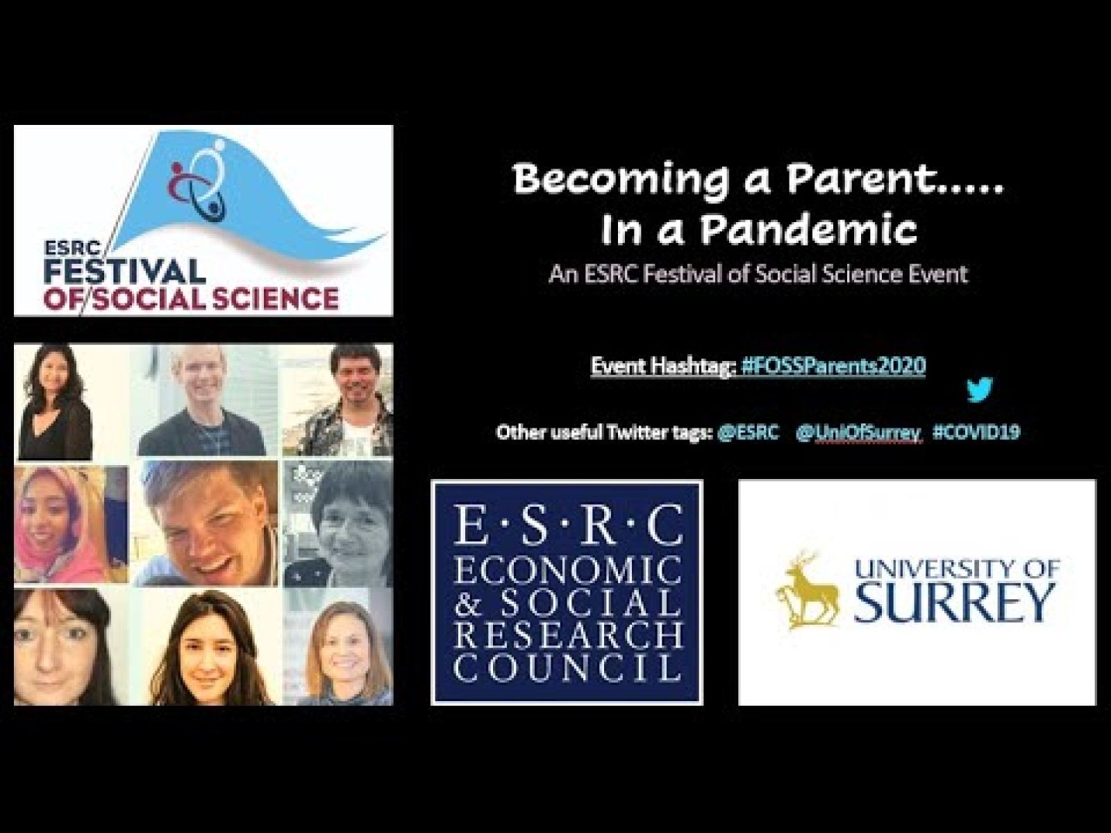 ESRC Festival of Social Science: Becoming a Parent in a Pandemic