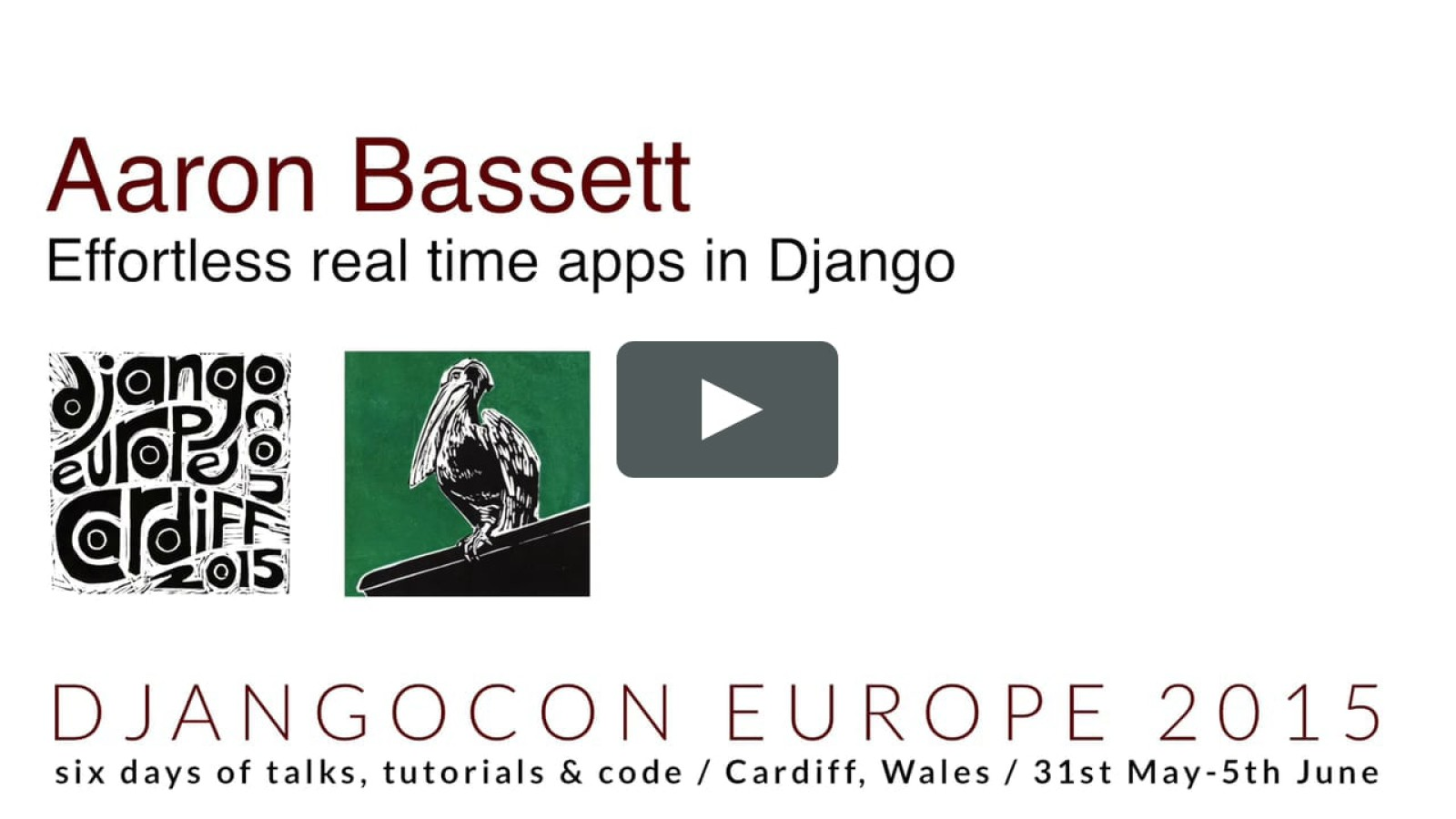 Effortless real time apps in Django