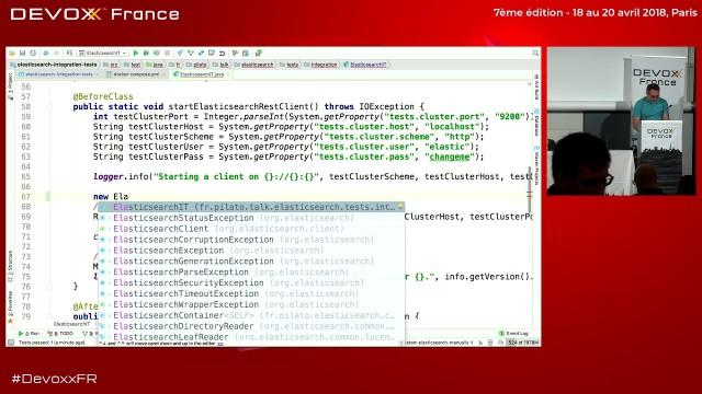 Testcontainers pour de vrais tests d'intégration d'Elasticsearch